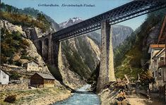 Gotthardbahn - Kerstelenbach-Viaduct. Ans_02064