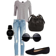 """""""casual outfit"""" by simosini on Polyvore"""