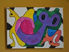 My Art:   Love CatsAcrylic40 x 602006