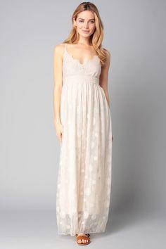 Robe longue blanche molly bracken