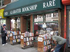 Bookstore, NYC by Literary Tourist, via Flickr