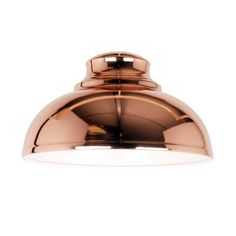 Statement copper pendant light, only £15! I've got 2 over my breakfast bar and they look fab! Great quality and value for money. Cosy Skandi Collection Appleton Galley Copper Pendant | Dunelm