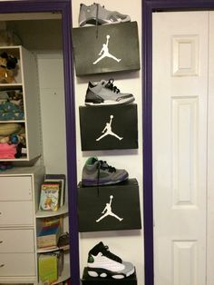 How To Display Your Shoes On The Wall Tutorial Youtube