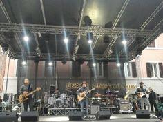 77^ Sagra dell'Uva di Cupramontana ( An ) questa sera i TIROMANCINO in concerto .....prove tecniche....