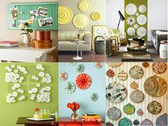 25 idées créatives et faciles pour la décoration murale...