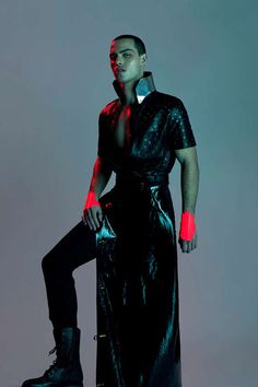 Sci-Fi Sportswear Editorials - The In This Age Bullett Magazine Photoshoot is Futuristic (GALLERY)