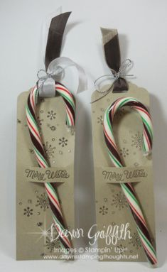 Merry Wishes Candy Cane holder video