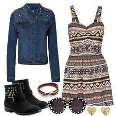 Would so wear this! Jacket with short dress