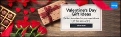 Get up to 80% discount on Valentine's Day Gift such as Flowers, Accessories, Perfumes, Watches, handbags and many more products. No coupon code required.