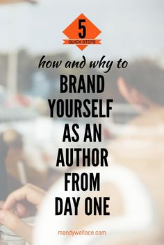 Guest author, Nichole Severn, covers 5 ways to brand yourself as an author from day one. She also shares why every writer should bother.