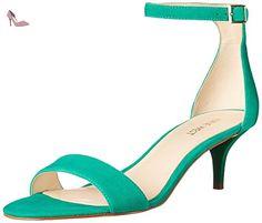 Nine West Leisa Suede Sandales à talons - Chaussures nine west (*Partner-Link)