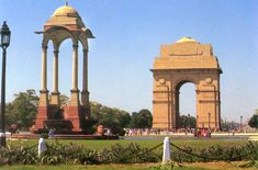 Situated in the heart of Delhi, India Gate has a special position in the history of India. Built in the memory of ninety thousand soldiers who sacrificed their lives, this National monument was originally known as All India War Memorial. Delhi India, New Delhi, Udaipur India, Jaipur, India India, Travel Destinations In India, Travel Tours, Travel And Tourism, India Travel