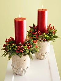 very simple yet beautiful.. love candles