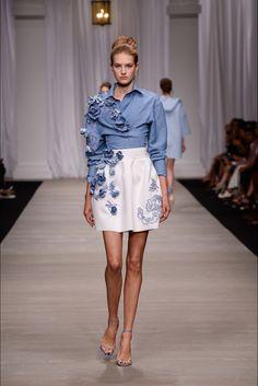 Fashion runway  Ermanno Scervino Spring/Summer 2015 Rtw MFW   http://www.theglampepper.com/2014/09/23/fashion-runway-ermanno-scervino-springsummer-2015-rtw-mfw/