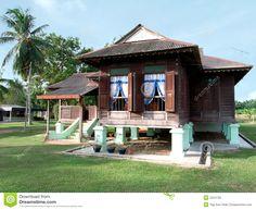 Malay Kampung home