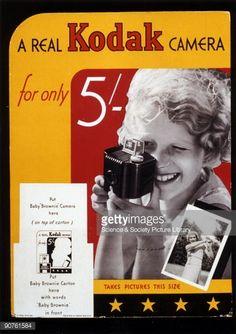 Kodak camera introduced - 1930's