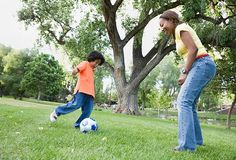 Turn Your Kids' Sports Practice Into a Workout #PGBestForMe