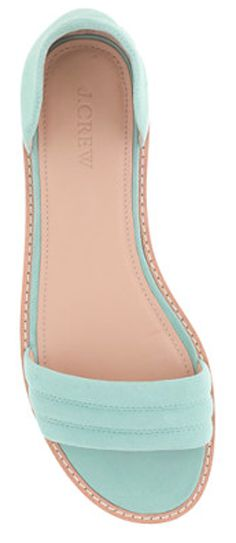 Mint ballet flats from JCrew