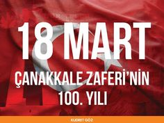 Çanakkale Zaferi'nin 100. Yılı Kutlu Olsun...  #kudretgoz #hastane #18Mart1915 #turkiye #turkey