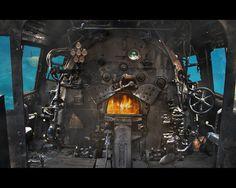 Steampunk Submarine Furnace