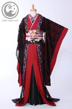 千本桜 鈴華ゆう子 衣装まえ Cosplay Outfits, Dress Outfits, Cool Outfits, Fashion Outfits, Japanese Outfits, Japanese Fashion, Oriental Fashion, Asian Fashion, Kimono Fashion