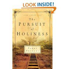 Amazon.com: The Pursuit of Holiness (9781576839324): Jerry Bridges: Books