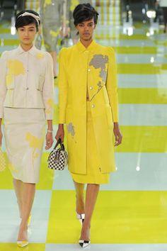 Patchwork/Applique Jacket. Louis Vuitton Sp'13