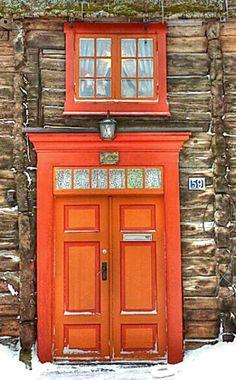 Røros, Sør-Trøndelag, Norway door