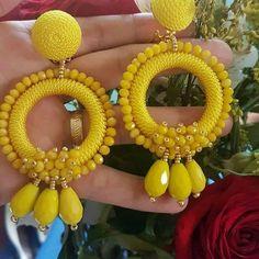 Gold Ear Jackets + Opal earrings- simple ear jacket/ dainty ear jacket/ ear jacket earring/ gold ear jackets/ gifts for her/ birthday gift - Fine Jewelry Ideas Opal Earrings, Simple Earrings, Beaded Earrings, Earrings Handmade, Handmade Jewelry, Hoop Earrings, Bead Jewellery, Beaded Jewelry, Crochet Earrings Pattern