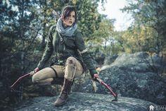 Lara Croft by Fire&Flood
