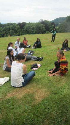 Relaxing with friends on the Chi Kri Summer Retreat! 4-6th July 2014. Email info@chikri.com to find out more! https://www.youtube.com/watch?v=Uvl2V_P_w_M  #yoga #summer #wales #peace #nature #love #friendship