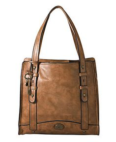 Fossil Handbag, Work North South Tote $288