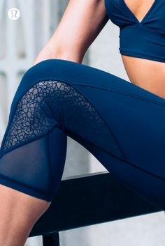 Breathable details for sweaty workouts.