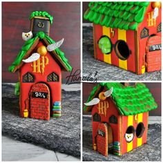 I haven't made a gingerbread house since last Christmas.  It was time make some new gingerbread. Halloween is around the corner and I ha...