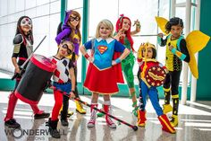 The web seriesDC Super Hero Girls flew onto the scene last October, focusing on teenage versions of Wonder Woman, Katana, Harley Quinn, and other heroes and villains who attend Super Hero High. The show, which also included a television special in March, is about empowerment, friendship, and self discovery. I know, that sounds cheesy. But the story is relatable and tons of fun. Bonus: the show comes with its own line of action figures and dolls and costume accessories so kids can become…