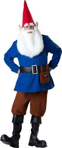 Mr. Garden Gnome Adult Halloween Costume