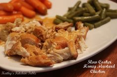 Slow Cooker Honey Mustard Chicken | Kathy's Kitchen Table