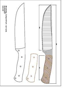 bckk.pdf - OneDrive Ulu Knife, Knife Drawing, Knife Template, Knife Patterns, Bushcraft Knives, Forged Steel, Fixed Blade Knife, Custom Knives, Knives And Swords