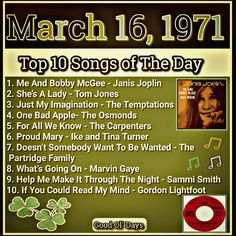 Gospel Song Lyrics, Music Lyrics, Music Songs, Me And Bobby Mcgee, Positive Songs, Country Love Songs, Throwback Songs, 1970s Music, Rock Hits