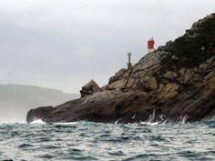 Faro de Punta do Faro. Ría de Viveiro. Lugo. Galicia / Spain