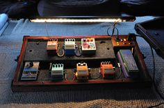 Awesome homemade pedalboard