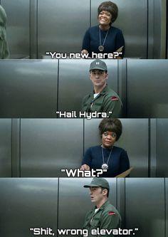 Marvel Avengers 673217844287887724 - Source by reylieparker Marvel Jokes, Marvel Avengers, Avengers Humor, Funny Marvel Memes, Dc Memes, Marvel Heroes, Marvel Comics, Hail Hydra, Marvel Universe