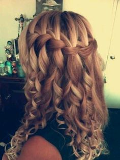 Waterfall braid . (: