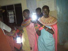 Solar Powered Lanterns for Kenya: Was on CNN hero's