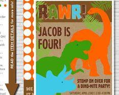 Dinosaur Birthday Dinosaur Party Dinosaur Birthday | Etsy