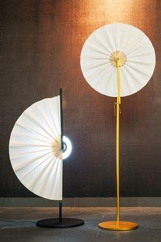 アジアの風情漂う…扇子形ランプ「Ryun」、韓国のデザインスタジオが発表 2枚目