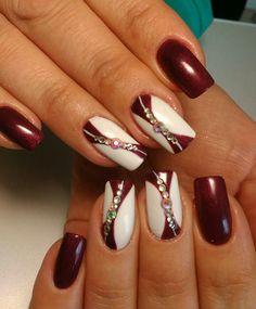 and Beautiful Nail Art Designs Elegant Nail Designs, Nail Designs Spring, Beautiful Nail Designs, Beautiful Nail Art, Gorgeous Nails, Glam Nails, Fancy Nails, Beauty Nails, Hair Beauty