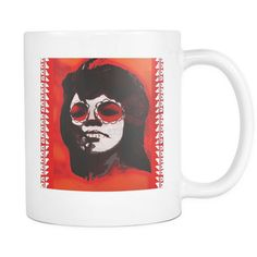 Mary Wells - Dia de los Muertos Day Of The Dead Soul Oldies White Mug