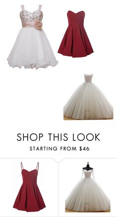 """Prom dresses for the girls"" by cheyanne-lewis ❤ liked on Polyvore featuring Glamorous, women's clothing, women's fashion, women, female, woman, misses and juniors"