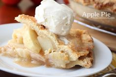 I'm sharing the best ever apple pie recipe and a recipe for a fabulous double pie crust. This pie is perfect for Thanksgiving, family gatherings, & anytime!